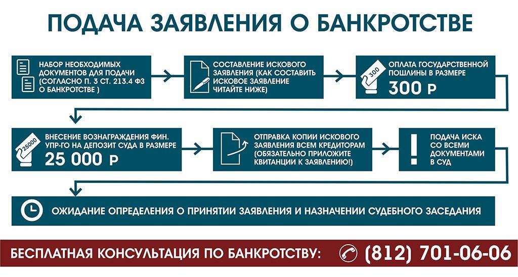 ПОРЯДОК ОФОРМЛЕНИЯ ПРОЦЕДУРЫ БАНКРОТСТВА ФИЗИЧЕСКИХ ЛИЦ2